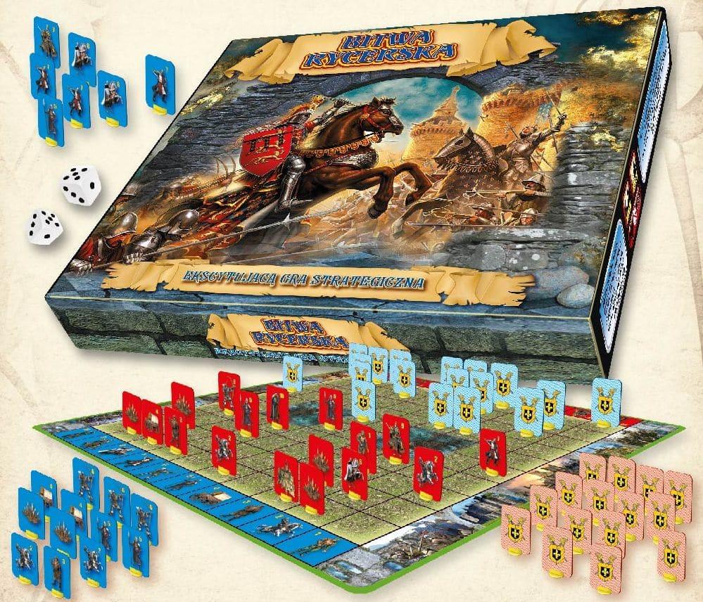 gra bitwa rycerska wojenno-strategiczna