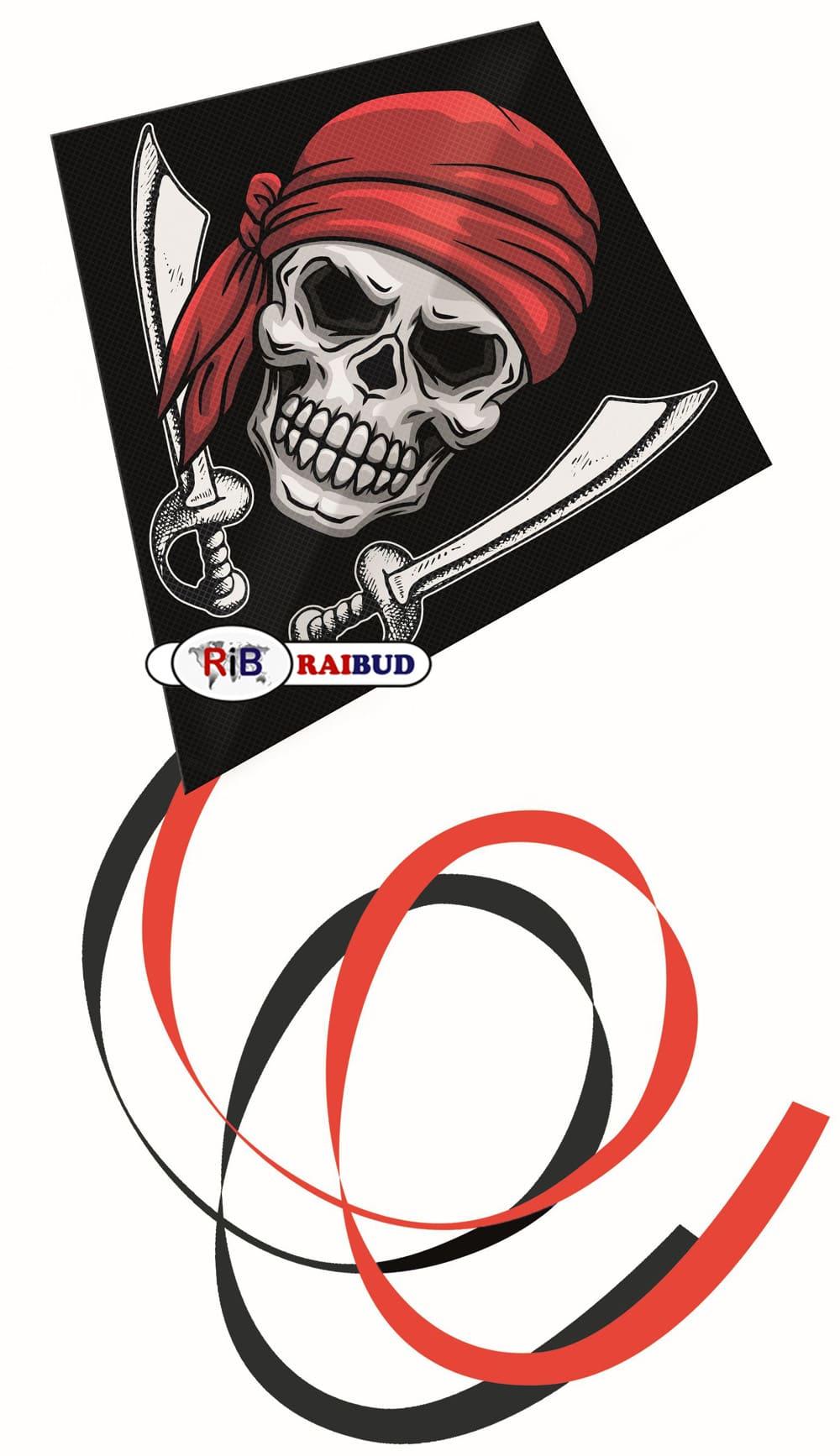 latawiec jednolinkowy pirat, raibud