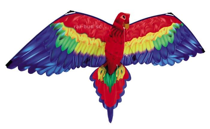 latawiec papuga ara