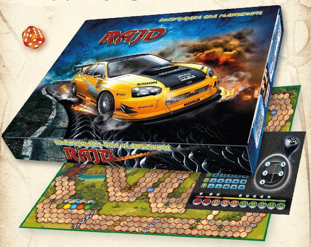 gra wyscigi samochodowe rajd
