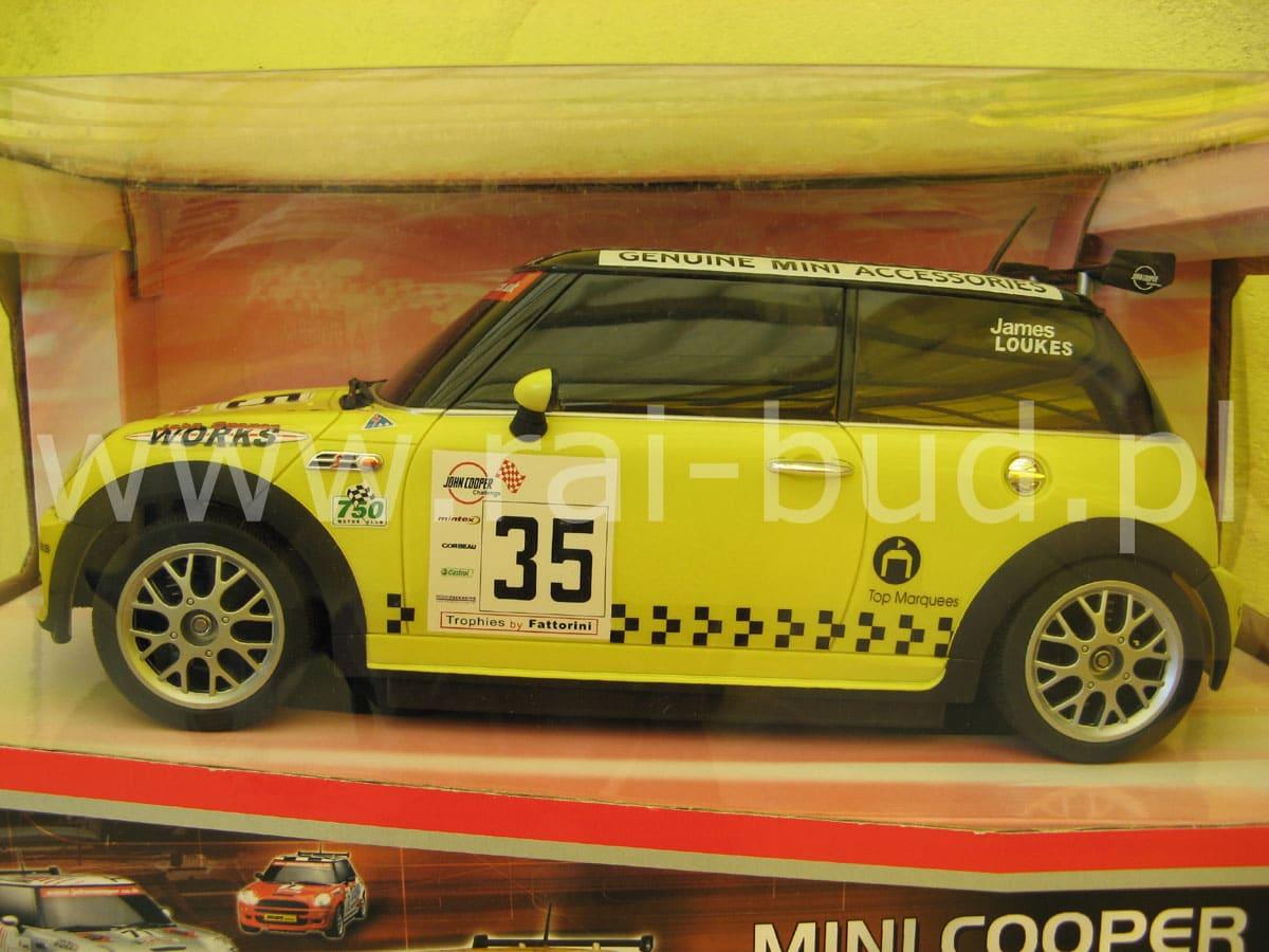 Mini Cooper S 110 żółty Modele Rc Modele Mercedes Auta